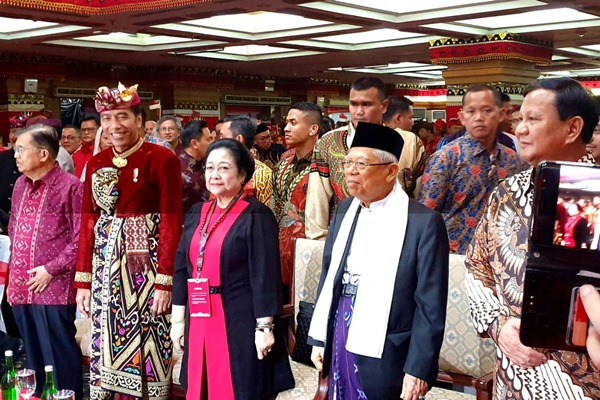 Jelang Dilantik Jadi Presiden dan Wakil Presiden, Ini Daftar Janji Kampanye Jokowi - Ma`ruf Amin