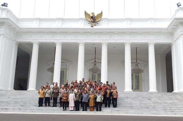 Perpisahan Kabinet Kerja, Jokowi: Target Tak Tercapai Perlu Dikoreksi