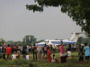 Bandara Ngloram Kembali Didarati Pesawat Setelah 34 Tahun