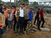 Jembatan Rusak Berat, Bupati Lebak Yakin Perbaikan Rampung dalam Tiga Bulan